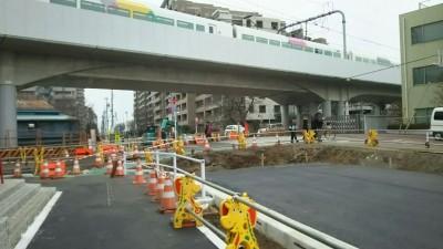 都市計画道路工事2