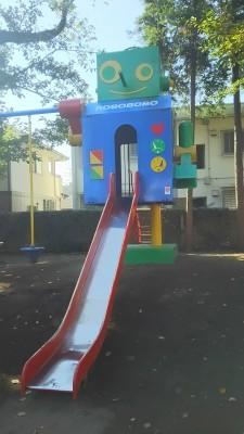 ロボット滑り台