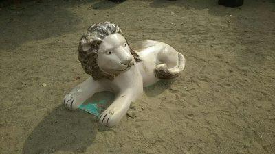 ぞうさん公園ライオン