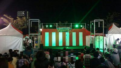阿波踊りステージ