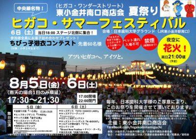 ヒガコサマーフェスティバル2016