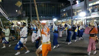 阿波おどり2017南口総踊り