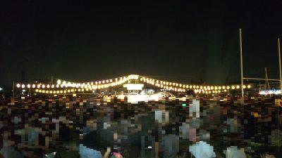 ヒガコサマーフェス櫓